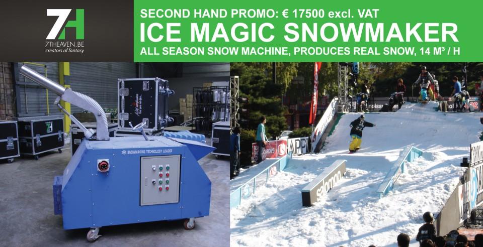 Second hand promotion: Snowmaker & Snowboy