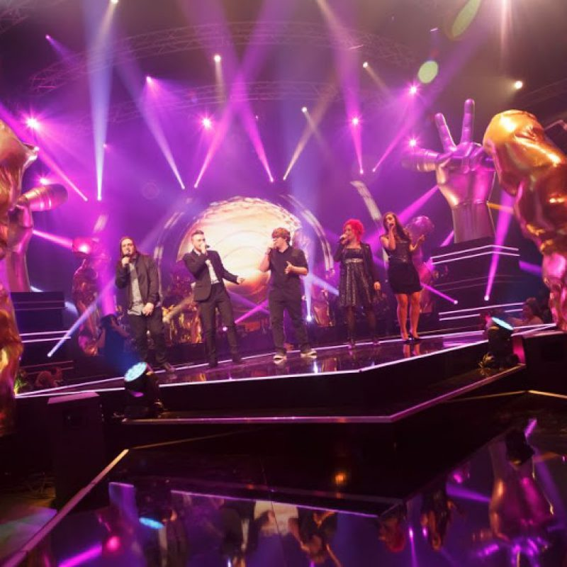 Art Flames - The Voice Belgique - Event Decoration - 7theaven