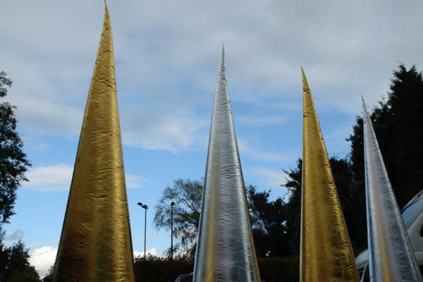 goldensilvercones-eventdecoration-7theaven-2