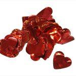 Metallic Slowfall Heart Confetti - Confetti - Special Effects - 7theaven