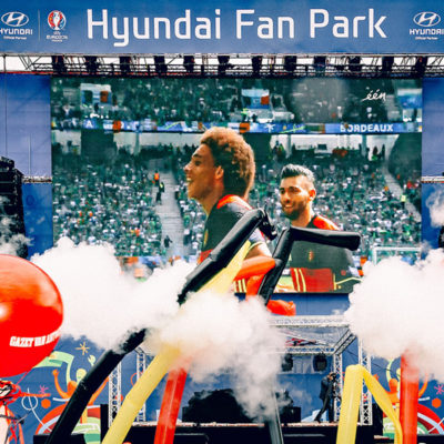 Hyundai Fan Village 2016 - Special Effects - 7theaven